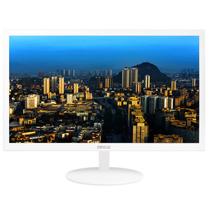 铭速T200  20英寸60HZ HDMI+VGA LED液晶显示器白色